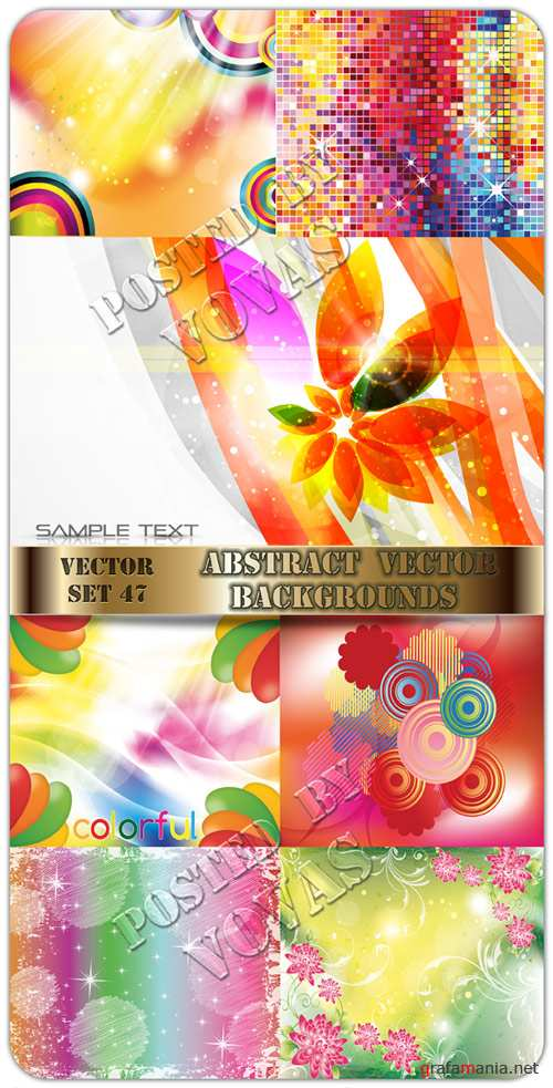 Abstract Vector Backgrounds 47