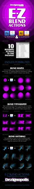 GraphicRiver - E-Z Blend Actions