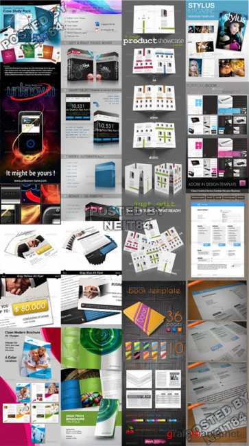 12 Template Graphicriver Flyers Selected Ver4
