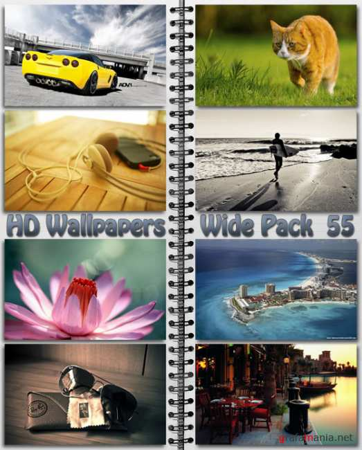 HD Wallpapers Wide Pack №55