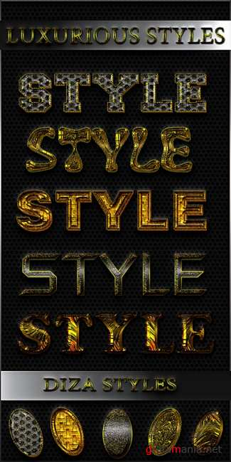 Luxurious styles