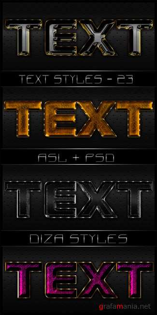 Text styles by DiZa - 23