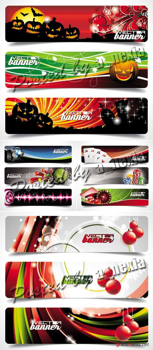 Banners Vector Collection