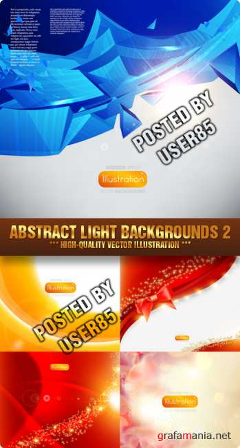 Stock Vector - Abstract Light Backgrounds 2