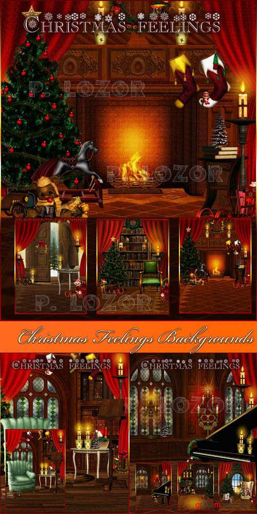 Christmas Feelings Backgrounds