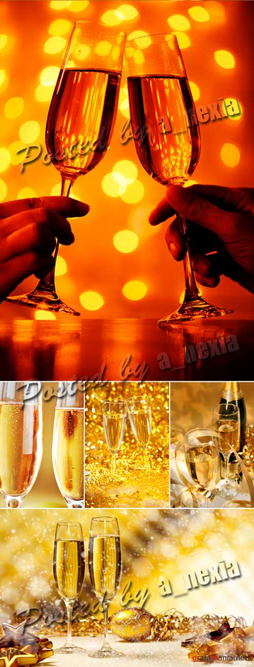 Stock Photo - Champagne Glasses
