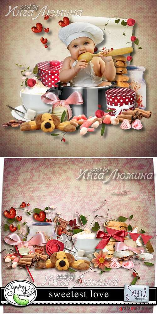 Scrap kit  Sweetest Love