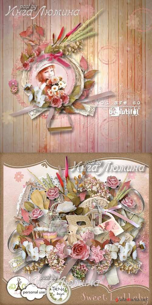 Scrap kit Sweet Lullaby
