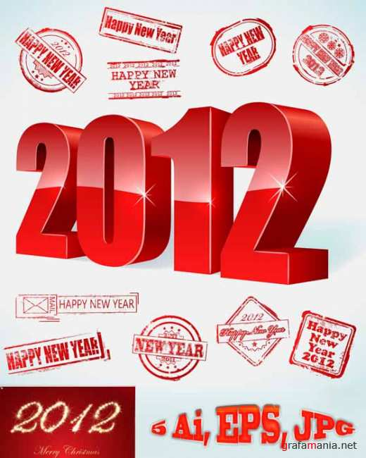 2012 Red New Year