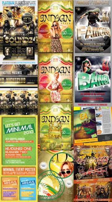 Graphicriver BUNDLE Flyers Templates V26