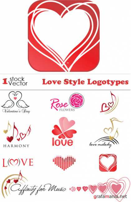 Love Style Logotypes Vector