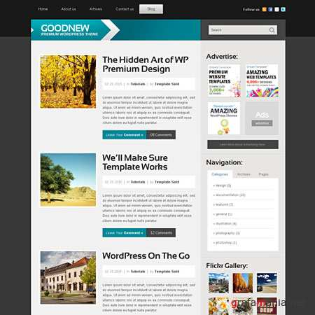 Dynamic CSS Templates Web Blog Corporate Futureblog