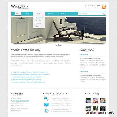 Dynamic CSS Templates Web Blog Corporate Clearlayout