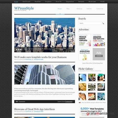 Dynamic CSS Templates Web Blog Corporate Alumini