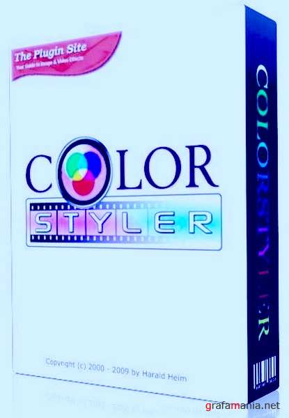 ColorStyler v 1.0 (Standalone and for Adobe Photoshop 32x64)+Portable