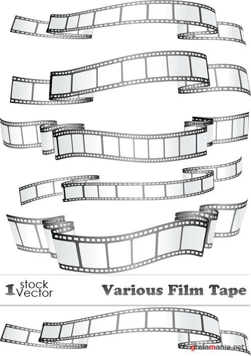 Various Film Tape Vector