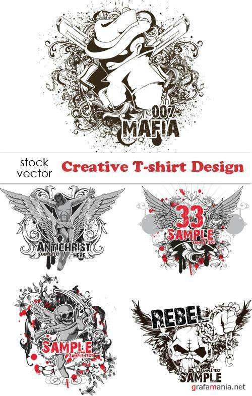 Estampa: Creative T-shirt Design