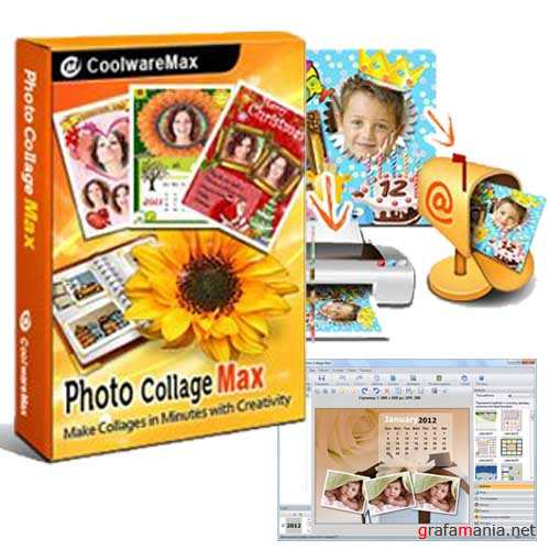 Photo Collage Max 2.1.2.6 + Rus