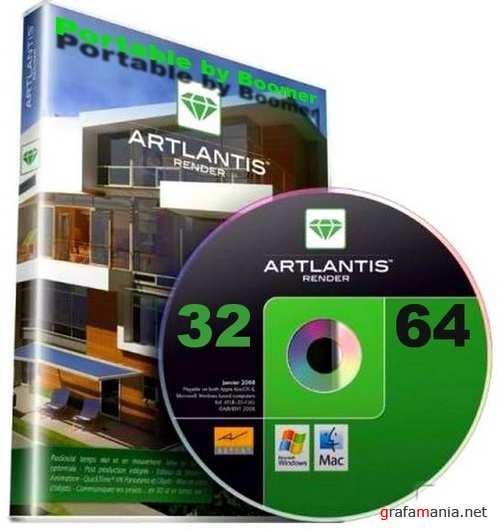 Abvent Artlantis Studio 4.1.6.2 RUS (32X64) Portable by Boomer