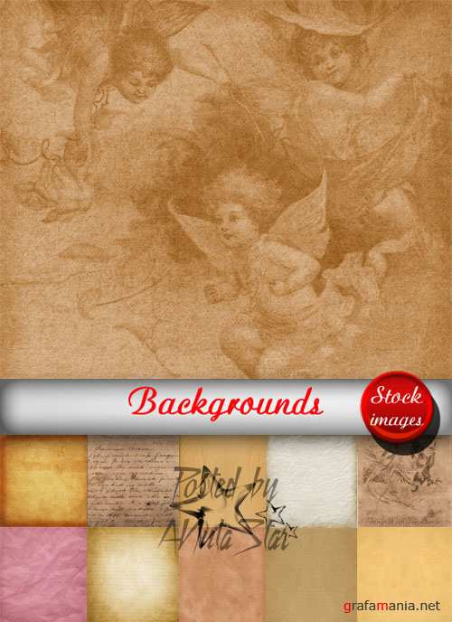 Backgrounds kit old paper by Diana Creations