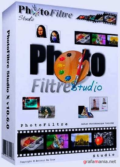 PhotoFiltre Studio X 10.6.0 RUS  (32x64) Portable by Boomer