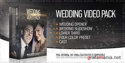 After Effects Project: Wedding Pack (VideoHive)