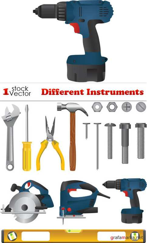 Different Instruments Vector