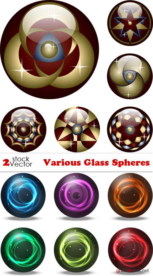 Vectors - Various Glass Spheres
