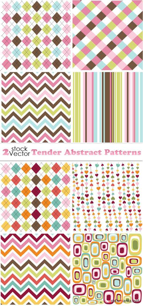 Vectors - Tender Abstract Patterns