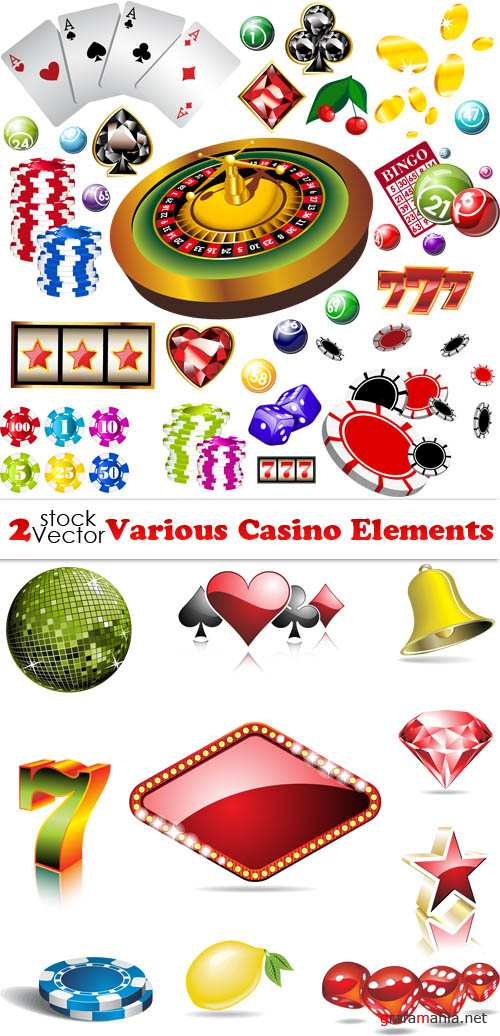 Vectors - Various Casino Elements