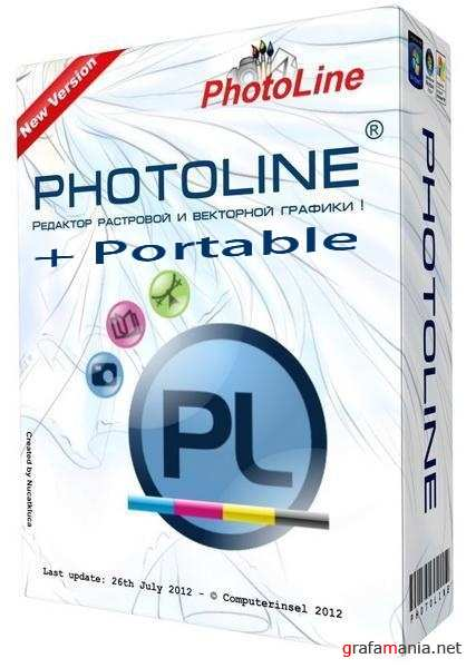PhotoLine 17.53 RUS RePack+ Portable by SamDel (32х64)
