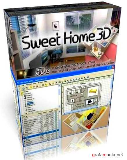 Sweet Home 3D 4.0 + Portable by Baltagy