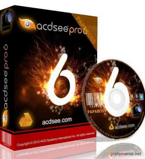 ACDSee Pro 6.2 Build 212 Final RU (x86/x64) RePack + Portable by SV