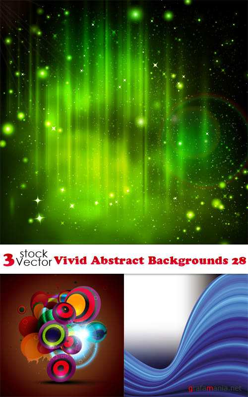 Vectors - Vivid Abstract Backgrounds 28