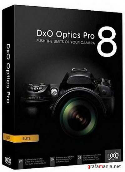 DxO Optics Professional v 8.1.5 Build 294 Elite Edition