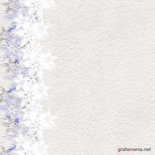 Backgrounds with flowers and hearts | Фоны с цветами и сердцами