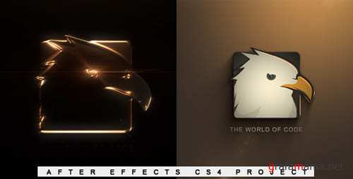 Elegant Glossy Edge Reveal - Project for After Effects (VideoHive)