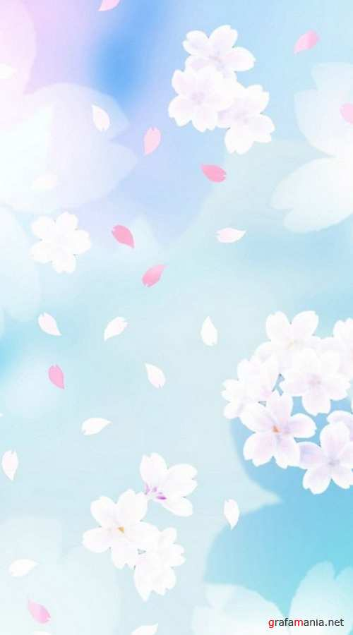 Backgrounds 2 - Flowers and landscapes in Japanese and Chinese styles | Фоны 2 - Цветы и пейзажи на японском и китайском стилях