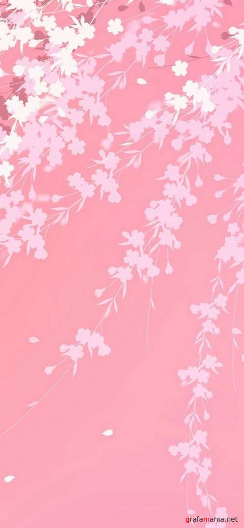 Backgrounds 3 - Flowers and landscapes in Japanese and Chinese styles | Фоны 3 - Цветы и пейзажи на японском и китайском стилях
