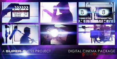 Digital Cinema Package: After Effects Project
