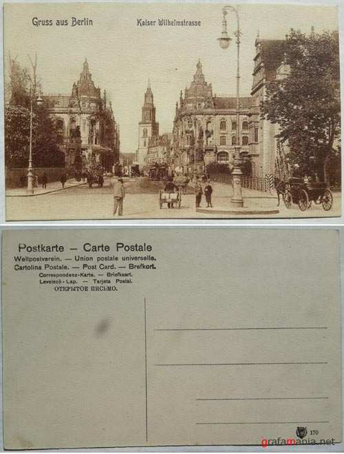 Collection of the  Postcards (1900-1908)