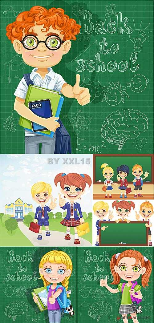 Children in school 2