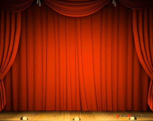 Theater, scene and curtain 4 | Театр, сцена, занавес 4
