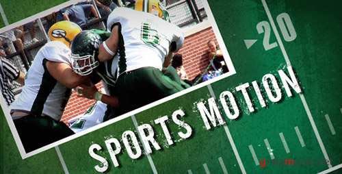 Sports Motion - Project for After Effects (Videohive)