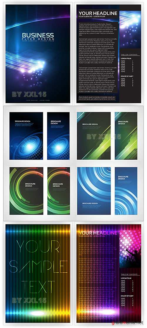 Brochure design templates 2