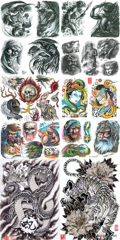 Large Collection of Tattoo