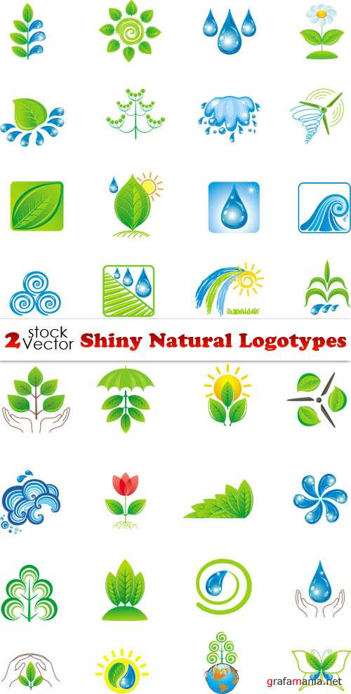 Vectors - Shiny Natural Logotypes