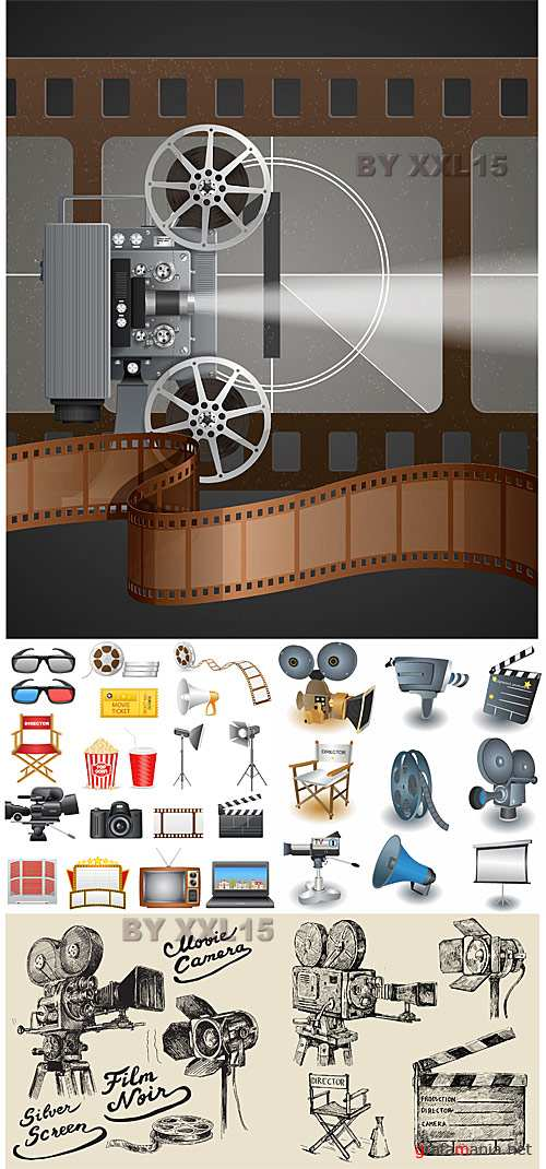 Movie objects vector