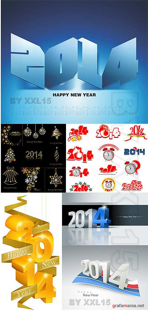 2014 New Year decorations
