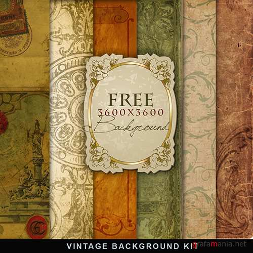 Vintage Background Kit